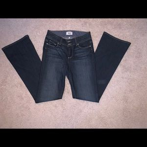 Paige boot cute extra long jeans